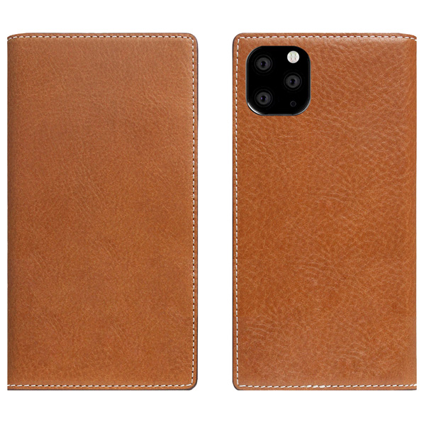 SLG Design iPhone 11 Pro Max用ケース Tamponata Leather case タン SD17940I65R [SD17940I65R]
