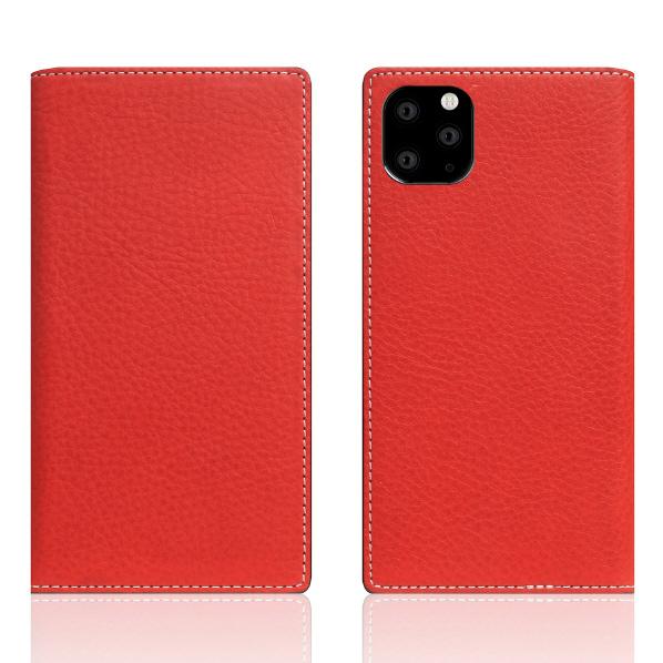 SLG Design iPhone 11 Pro Max用レザーケース Minerva Box Leather Case レッド SD17948I65R [SD17948I65R]