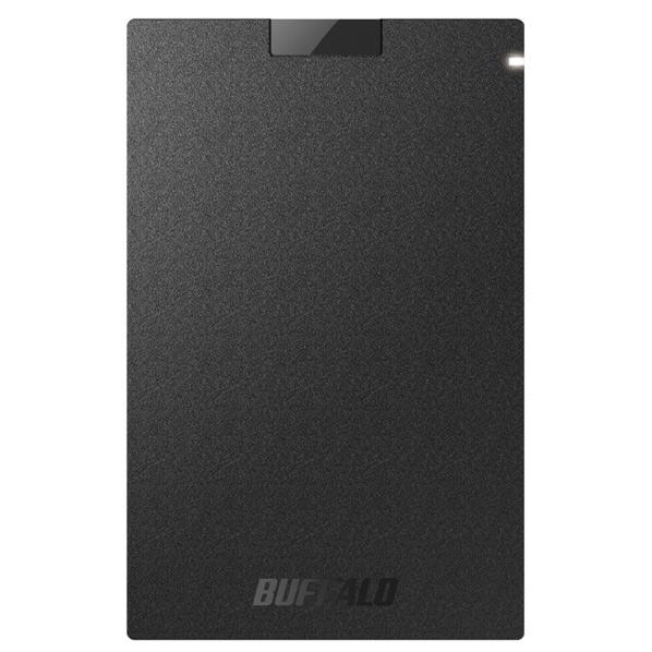 BUFFALO 外付けSSD(1.9TB) ブラック SSD-PG1.9U3-BA [SSDPG19U3BA]