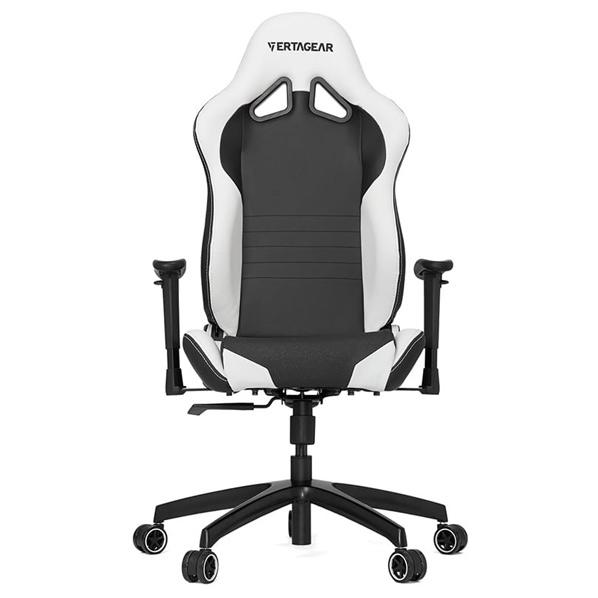 VertaGear ゲーミングチェア Racing Series S-Line SL2000 Black&White VG-SL2000_WT [VGSL2000WT]