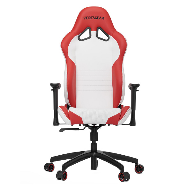 VertaGear ゲーミングチェア Racing Series S-Line SL2000 White&Red VG-SL2000_WRD [VGSL2000WRD]