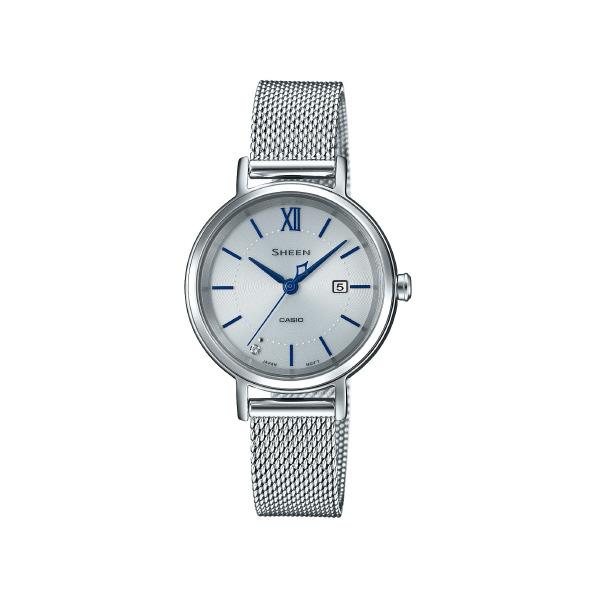 カシオ ソーラー腕時計 SHEEN シルバー SHS-D300M-7AJF [SHSD300M7AJF]