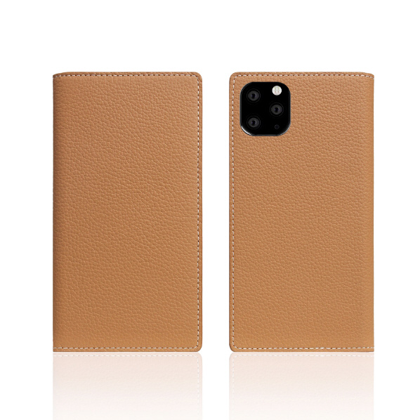 SLG Design iPhone 11 Pro用ケース Full Grain Leather Case キャラメルクリーム SD17870I58R [SD17870I58R]