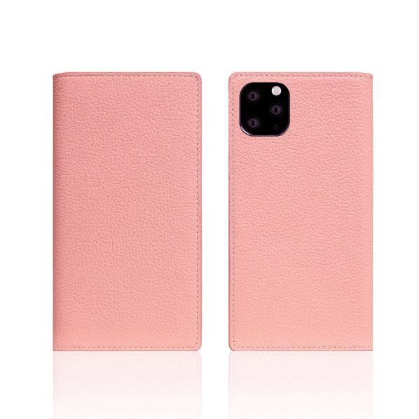SLG Design iPhone 11 Pro用ケース Full Grain Leather Case ライトローズ SD17872I58R [SD17872I58R]