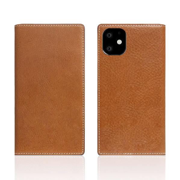 SLG Design iPhone 11用Tamponata Leather case タン SD17899I61R [SD17899I61R]
