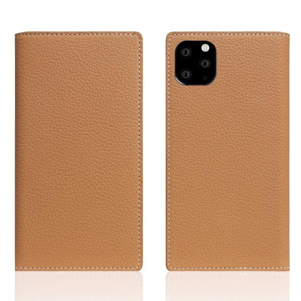 SLG Design iPhone 11 Pro Max用Full Grain Leather Case キャラメルクリーム SD17952I65R [SD17952I65R]