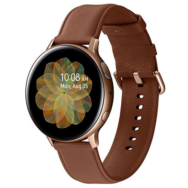 サムスン Galaxy Watch Active2(44mm) ゴールド SM-R820NSDAXJP [SMR820NSDAXJP]