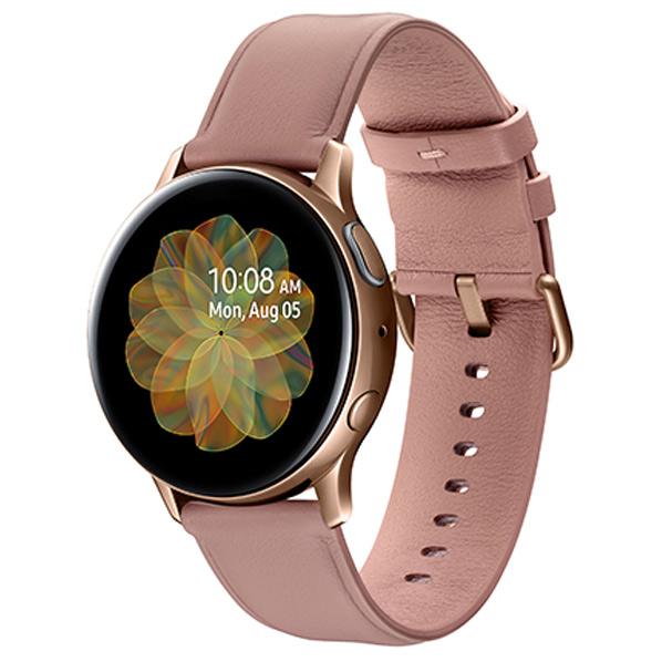 サムスン Galaxy Watch Active2(40mm) ゴールド SM-R830NSDAXJP [SMR830NSDAXJP]