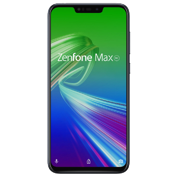 ASUS SIMフリースマートフォン Zenfone Max(M2) ミッドナイトブラック ZB633KL-BK64S4 [ZB633KLBK64S4]【RNH】