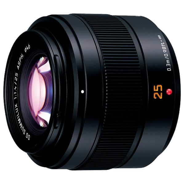 パナソニック 標準単焦点レンズ LEICA DG SUMMILUX 25mm/F1.4 II ASPH. H-XA025 [HXA025]