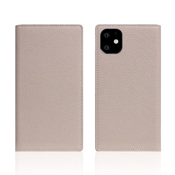 SLG Design iPhone 11用ケース Full Grain Leather Case ライトクリーム SD17910I61R [SD17910I61R]