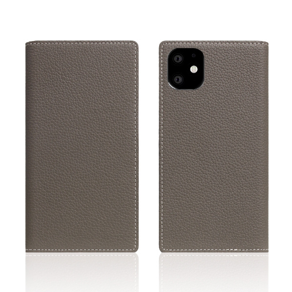 SLG Design iPhone 11用ケース Full Grain Leather Case エトフクリーム SD17912I61R [SD17912I61R]