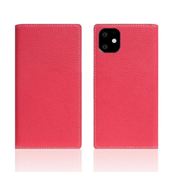 SLG Design iPhone 11用ケース Full Grain Leather Case ピンクローズ SD17914I61R [SD17914I61R]
