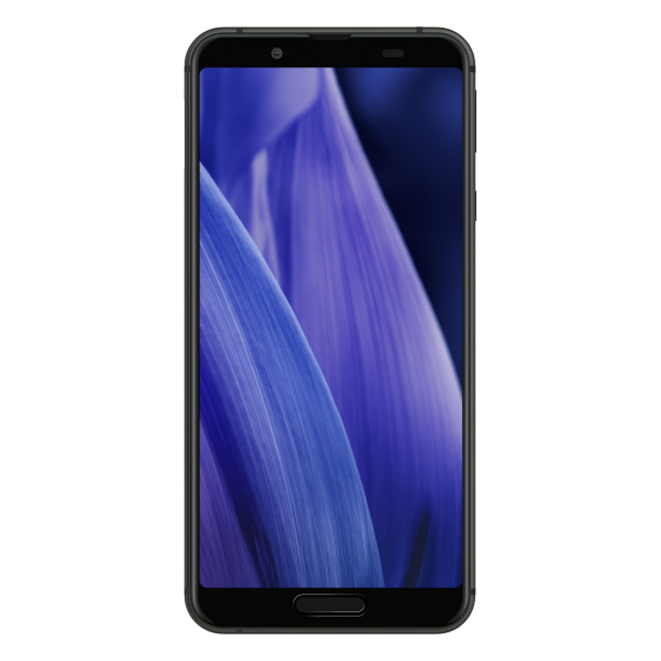 シャープ SIMフリースマートフォン AQUOS sense3 ブラック SHM12B [SHM12B]
