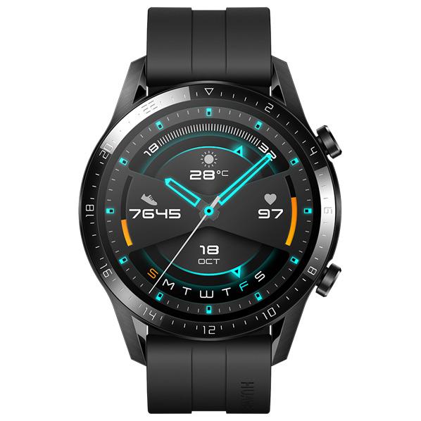 さらなる探求を HUAWEI Watch GT2 《週末限定タイムセール》 超定番 46mm Matte Black 46MM WATCH BK WATCHGT246MMBK
