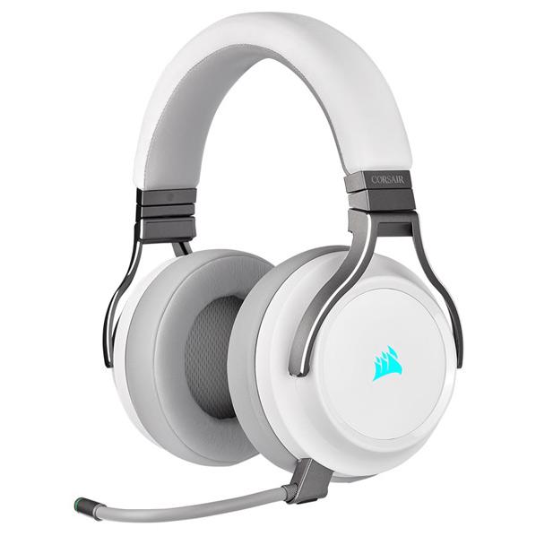 コルセア ゲーミングヘッドセット VIRTUOSO RGB WIRELESS White CA-9011186-AP [CA9011186AP]