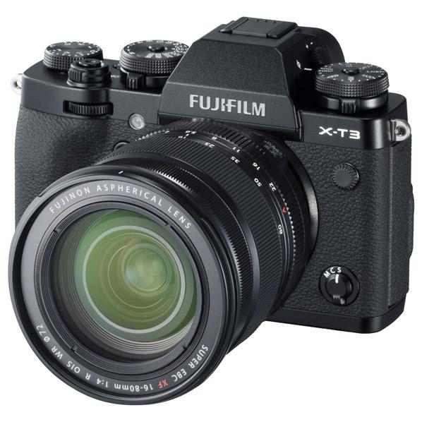 富士フイルム デジタル一眼カメラ・XF16-80mmレンズキット X-T3 ブラック FXT3LK1680B [FXT3LK1680B]【RNH】