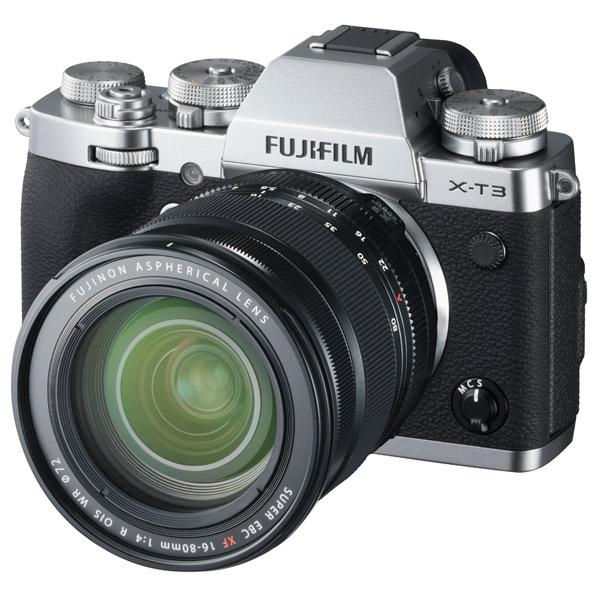 富士フイルム デジタル一眼カメラ・XF16-80mmレンズキット X-T3 シルバー FXT3LK1680S [FXT3LK1680S]【RNH】