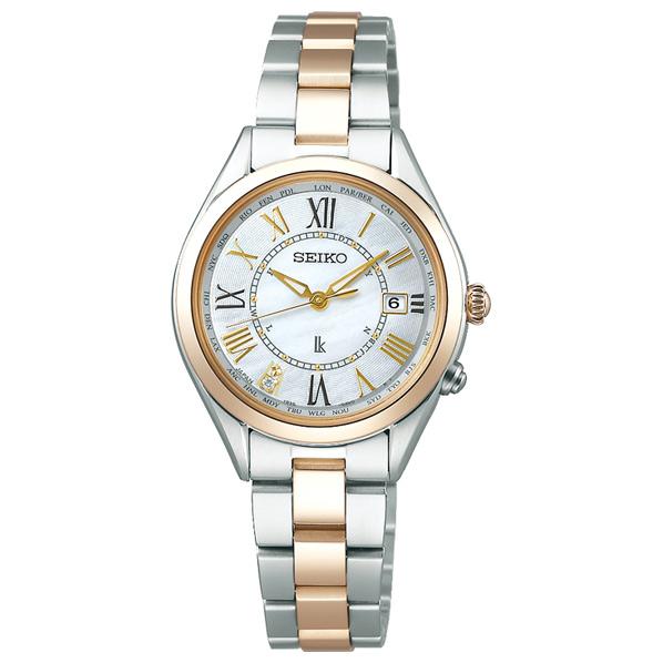 セイコーウォッチ ソーラー電波腕時計 ルキア(LUKIA) Lady Gold SSQV066 [SSQV066]