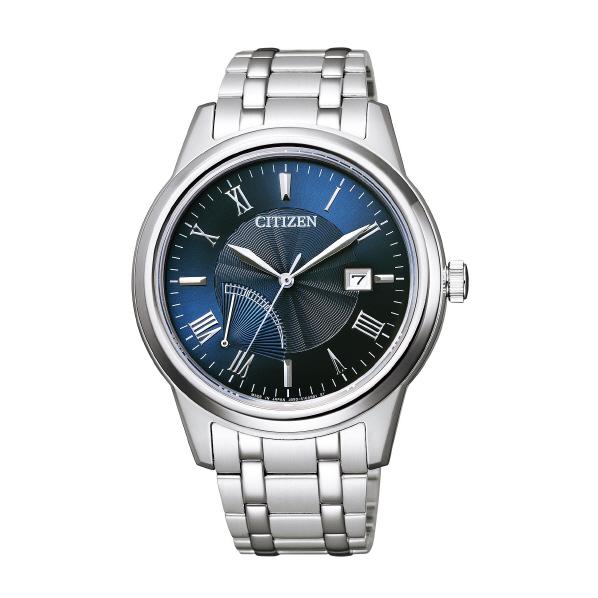 シチズン 腕時計 シチズンコレクション エコ・ドライブ 青 AW7001-98L [AW700198L]