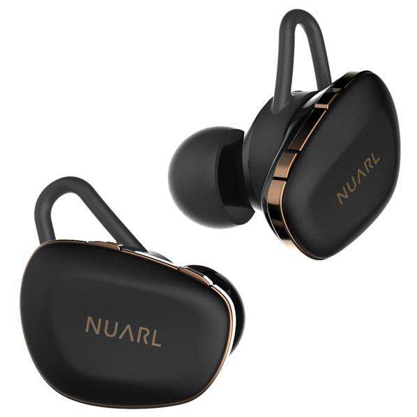 NUARL 完全ワイヤレスイヤフォン N6 Pro マットブラック N6PROMB [N6PROMB]【ARPP】