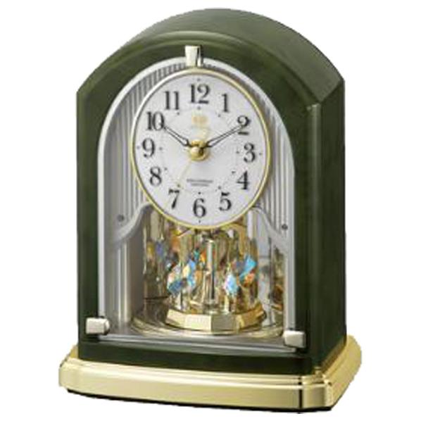 リズム時計 RHG-S74 電波置時計 8RN403HG05 [8RN403HG05]