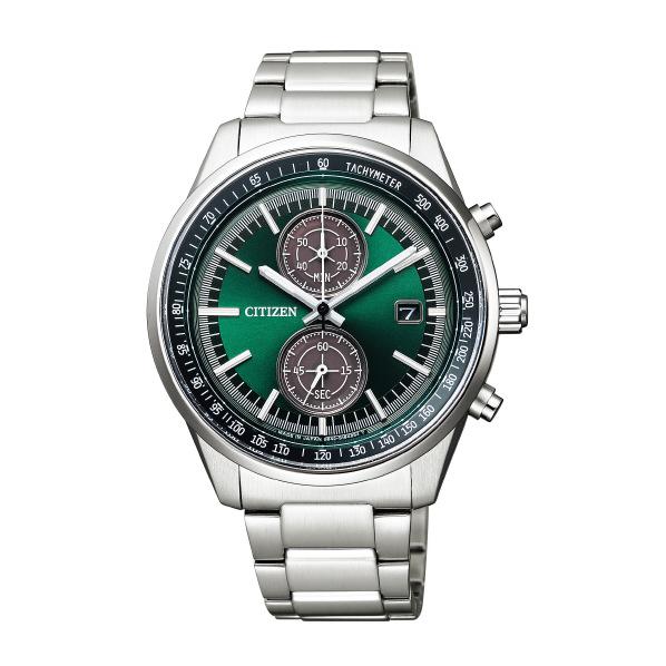 シチズン 腕時計 シチズンコレクション エコ・ドライブ スマートクロノグラフ 緑 CA7030-97W [CA703097W]