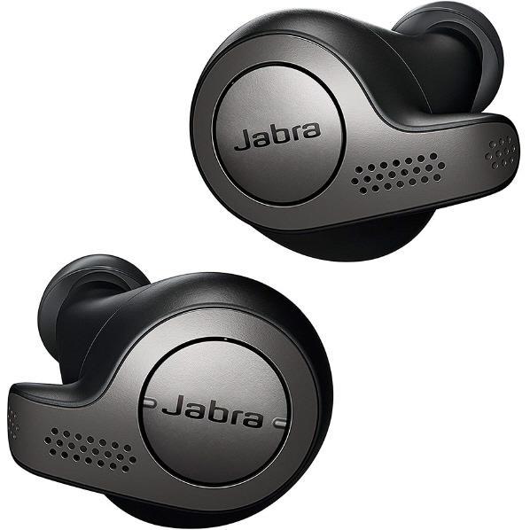Jabra 完全ワイヤレスイヤフォン Elite 65t Titanium Black 100-99000000-40-R [1009900000040R]