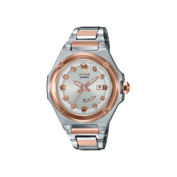カシオ ソーラー電波腕時計 BABY-G G-MS ピンクゴールド MSG-W300SG-4AJF [MSGW300SG4AJF]