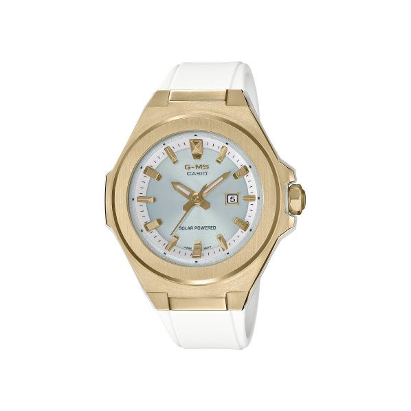 カシオ ソーラー腕時計 BABY-G G-MS ホワイト MSG-S500G-7AJF [MSGS500G7AJF]