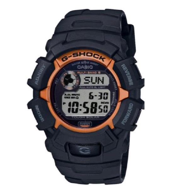 カシオ ソーラー電波腕時計 G-SHOCK FIRE PACKAGE 20 ブラック GW-2320SF-1B4JR [GW2320SF1B4JR]