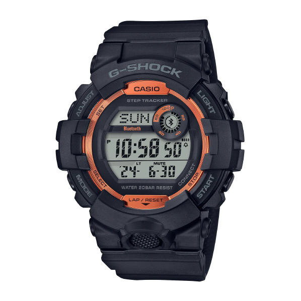 カシオ 腕時計 G-SHOCK FIRE PACKAGE 20 ブラック GBD-800SF-1JR [GBD800SF1JR]
