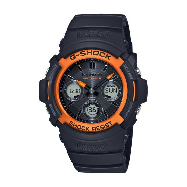 カシオ ソーラー電波腕時計 G-SHOCK FIRE PACKAGE 20 ブラック AWG-M100SF-1H4JR [AWGM100SF1H4JR]
