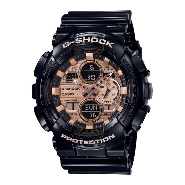カシオ 腕時計 G-SHOCK ブラック GA-140GB-1A2JF [GA140GB1A2JF]