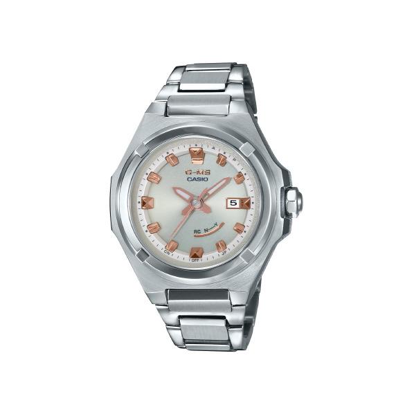 カシオ ソーラー電波腕時計 BABY-G G-MS シルバー MSG-W300D-4AJF [MSGW300D4AJF]