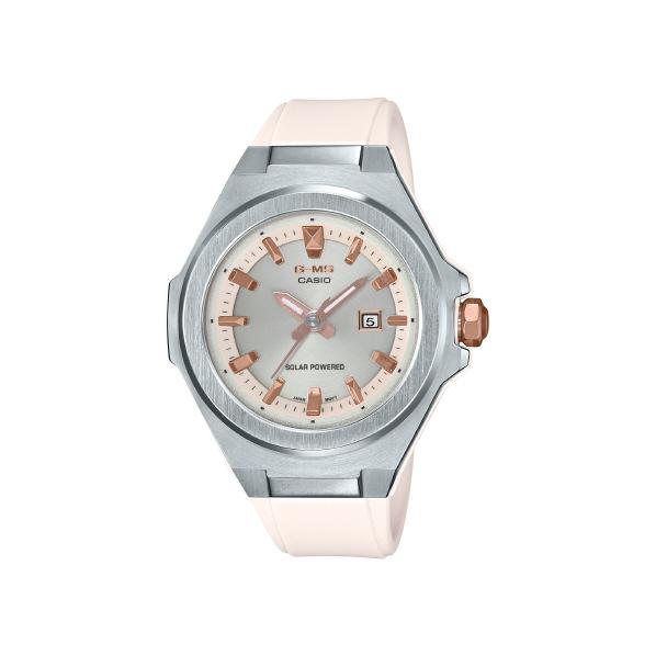 カシオ ソーラー腕時計 BABY-G G-MS ホワイト MSG-S500-7AJF [MSGS5007AJF]
