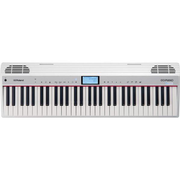 ローランド 電子キーボード GO:PIANOシリーズ ホワイト GO-61P-A [GO61PA]【MVSP】