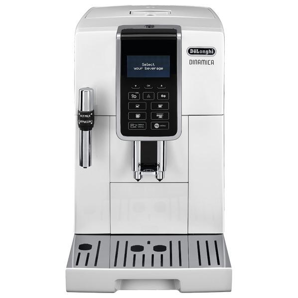 開催中 新入荷 流行 あんしん延長保証対象 ボタンを押すだけで挽きたて 淹れたての本格的なレギュラーコーヒーが楽しめるデロンギ全自動コーヒーマシン デロンギ コンパクト全自動コーヒーマシン ECAM35035W RNH ディナミカ ホワイト