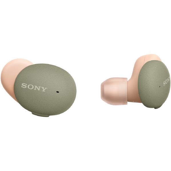 SONY 完全ワイヤレスヘッドフォン アッシュグリーン WF-H800 G [WFH800G]【RNH】
