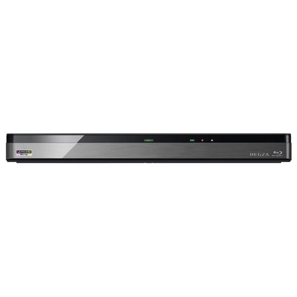 東芝映像ソリューション 1TB HDD内蔵ブルーレイレコーダー(Ultra HD対応) レグザ ブラック DBR-UT109 [DBRUT109]【RNH】【NATUM】