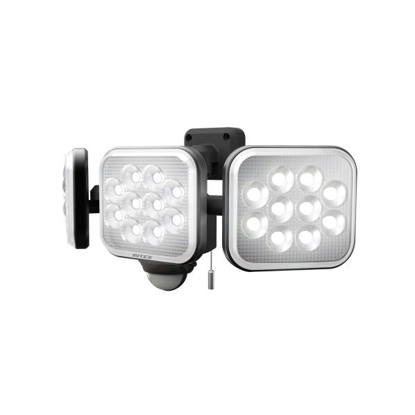 ムサシ 14W×3灯 フリーアーム式LEDセンサーライト RITEX LED-AC3042 [LEDAC3042]