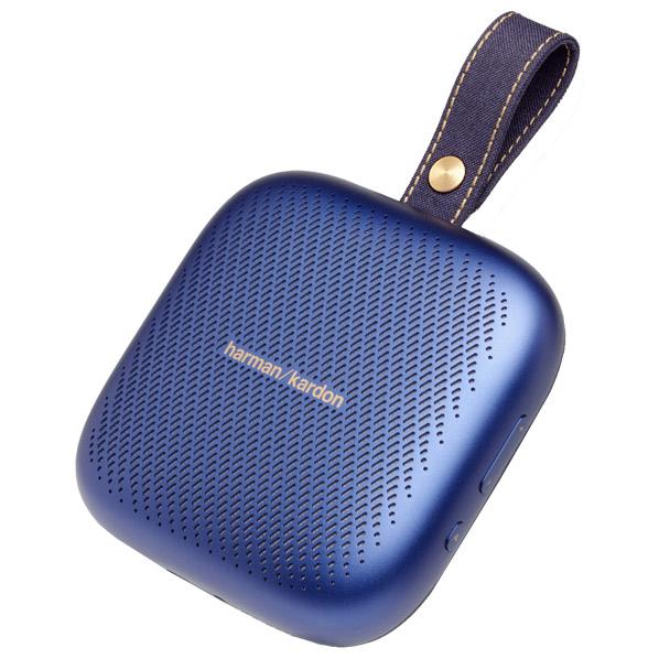ハーマンカードン Bluetooth対応ポータブルスピーカー Harman Kardon Neo ブルー HKNEOBLUBSG [HKNEOBLUBSG]【NATUM】