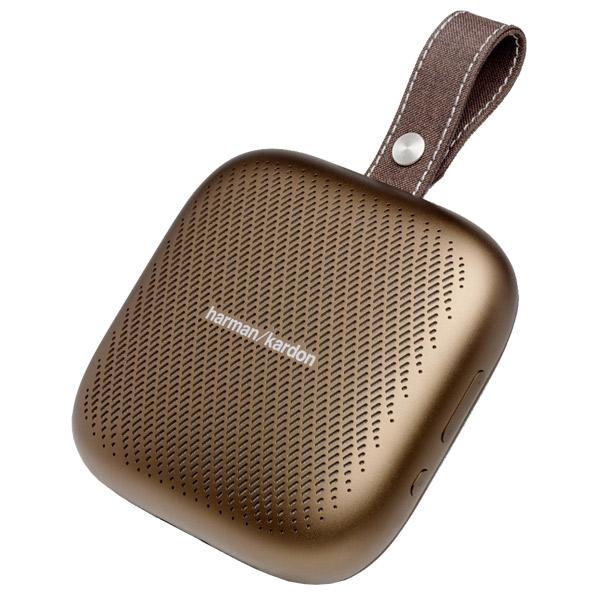 ハーマンカードン Bluetooth対応ポータブルスピーカー Harman Kardon Neo カッパー HKNEOBRNBSG [HKNEOBRNBSG]【NATUM】