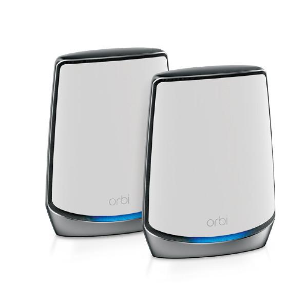 NETGEAR Orbi WiFi 6 トライバンドメッシュWiFiシステム 2個セット Orbiシリーズ RBK852-100JPS [RBK852100JPS]