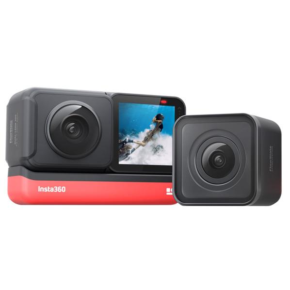 アスク モジュール式小型アクションカメラ Insta360 ONE R Twin Edition CINAKGP/A [CINAKGPA]