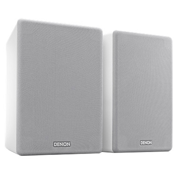 DENON スピーカー (2台) ホワイト SCN10WTEM [SCN10WTEM]【RNH】【JNSP】
