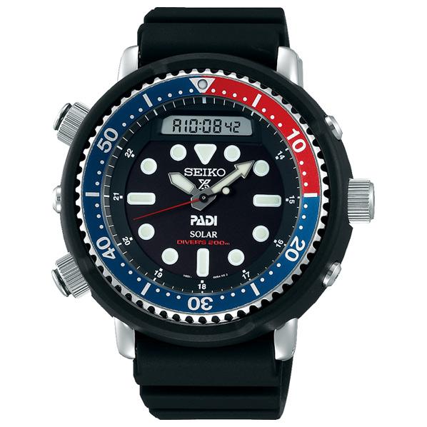 セイコーウォッチ ソーラー腕時計 PROSPEX(プロスペックス) ダイバースキューバ PADI モデル SBEQ003 [SBEQ003]