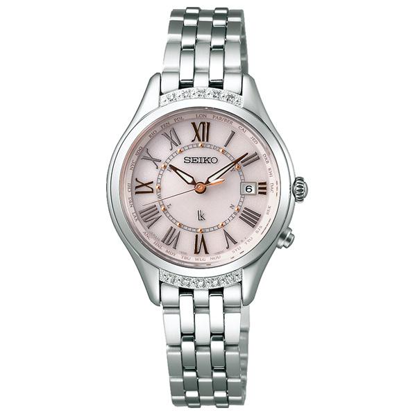 セイコーウォッチ ソーラー電波腕時計 ルキア(LUKIA) Lady Diamond SSVV053 [SSVV053]