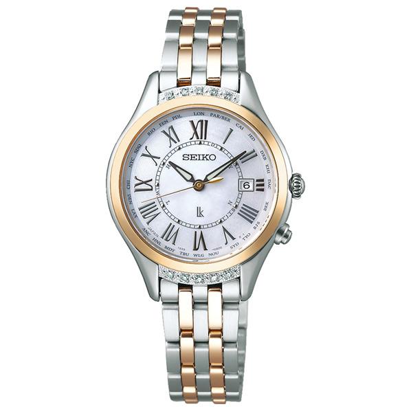 セイコーウォッチ ソーラー電波腕時計 ルキア(LUKIA) Lady Diamond SSVV056 [SSVV056]