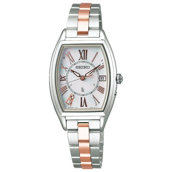 セイコーウォッチ ソーラー電波腕時計 ルキア(LUKIA) Lady Diamond SSQW051 [SSQW051]